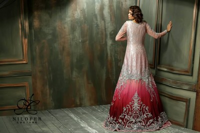 Meeras Bridal Wear Dresses 2015 By Nilofer Couture 3