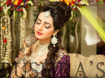 Latest Look of Anum Fayyaz for Bushra's Salon3