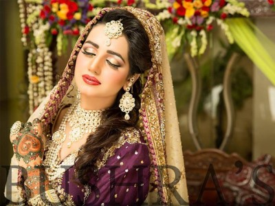 Latest Look of Anum Fayyaz for Bushra's Salon5