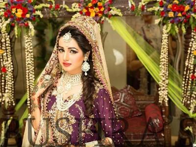 Latest Look of Anum Fayyaz for Bushra's Salon1