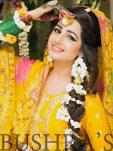 Latest Look of Anum Fayyaz for Bushra's Salon2
