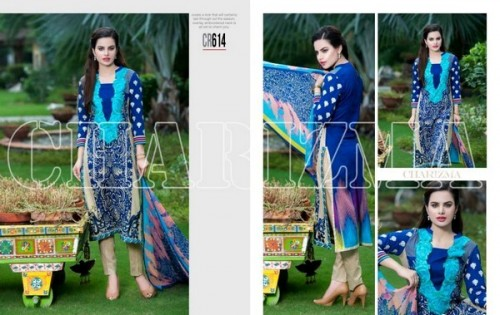 Charizma New Embroidered Lawn Dresses 2015 For Summer-2