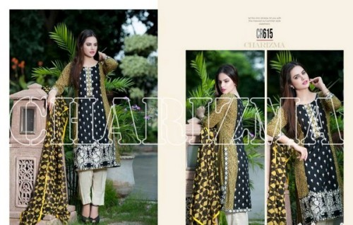 Charizma New Embroidered Lawn Dresses 2015 For Summer-4