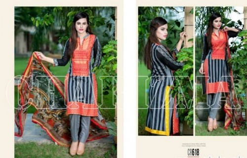 Charizma New Embroidered Lawn Dresses 2015 For Summer-5