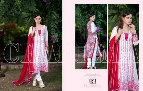 Charizma New Embroidered Lawn Dresses 2015 For Summer-6