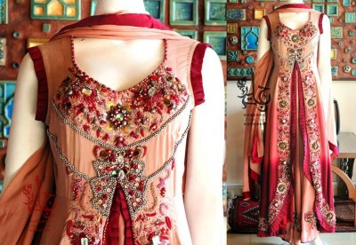 Latest-Open-Stylish-Gown-Collection-2015-by-Jannat-Nazir-6
