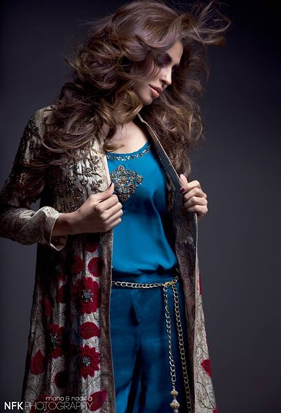 Momina Teli Party Dresses 2015 For Women-6