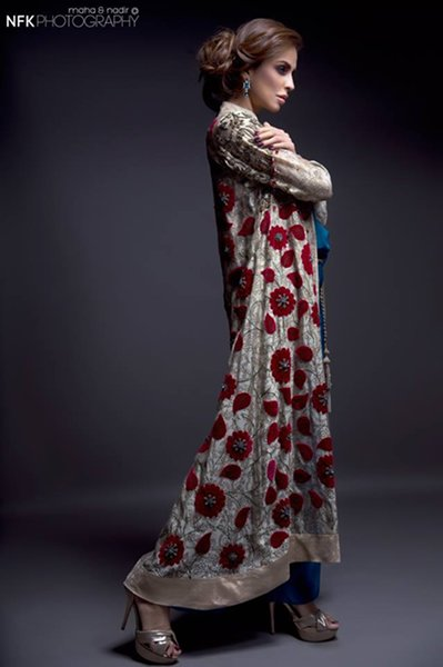 Momina Teli Party Dresses 2015 For Women-4