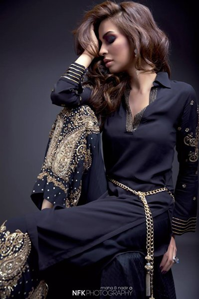 Momina Teli Party Dresses 2015 For Women-3