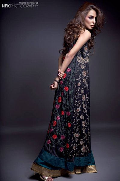 Momina Teli Party Dresses 2015 For Women-9