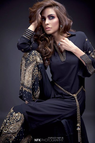 Momina Teli Party Dresses 2015 For Women-1