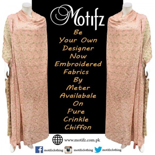 Motifz Party Wear Collection 2015 For Women-4
