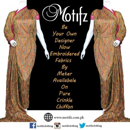 Motifz Party Wear Collection 2015 For Women-5