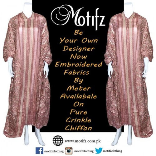 Motifz Party Wear Collection 2015 For Women-6