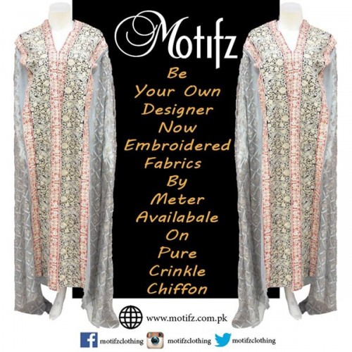 Motifz Party Wear Collection 2015 For Women-8