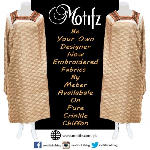 Motifz Party Wear Collection 2015 For Women-9