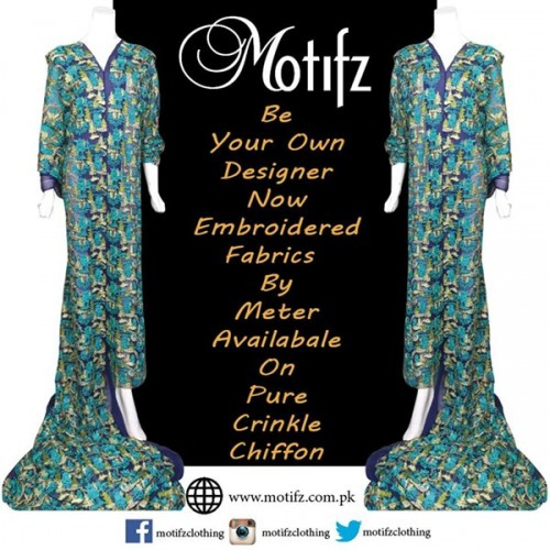 Motifz Party Wear Collection 2015 For Women-10