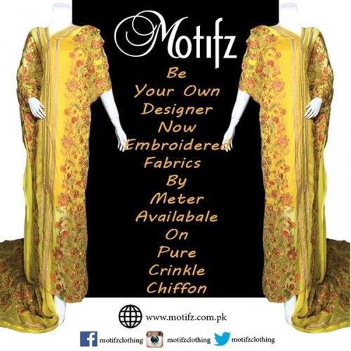 Motifz Party Wear Collection 2015 For Women-1