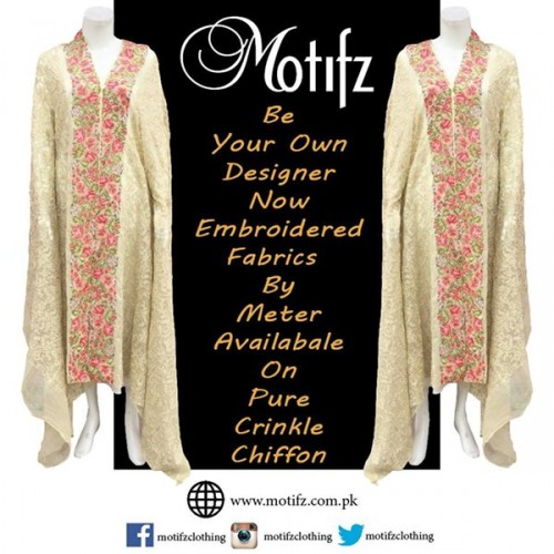 Motifz Party Wear Collection 2015 For Women-2