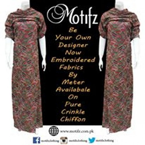 Motifz Party Wear Collection 2015 For Women-3