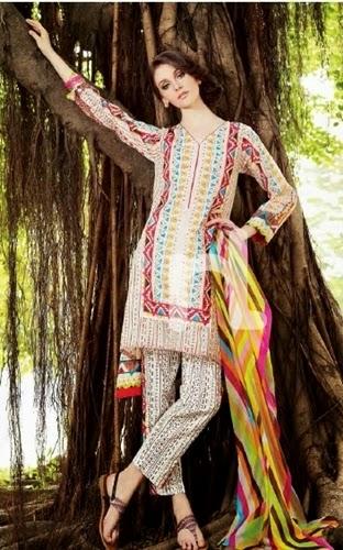 Nishat Linen Dresses 4