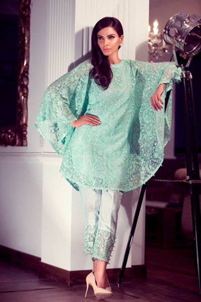 Threads And Motifs Party Wear Collection 2015 For Women-1