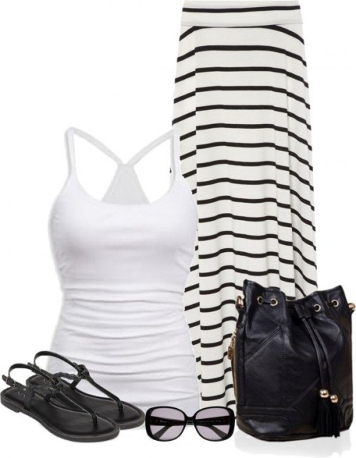 White-Black-Styles-Party-Wear-Polyvore-Combos-3