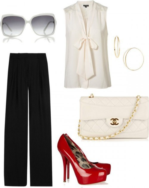 White-Black-Styles-Party-Wear-Polyvore-Combos-5
