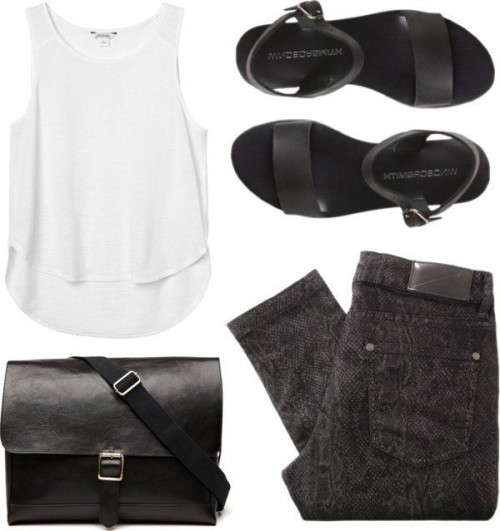 White-Black-Styles-Party-Wear-Polyvore-Combos-6