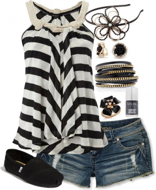 White-Black-Styles-Party-Wear-Polyvore-Combos-7