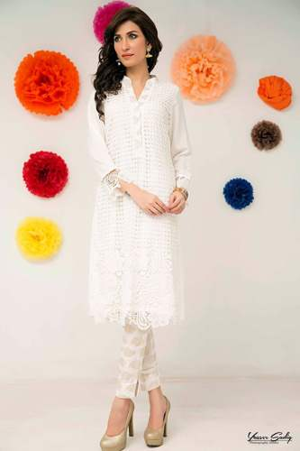 Zainab Hasan Eid-ul-Adha Mid Summer Formal Wear Dresses 2015-2