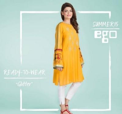 Ego-Kurti-Collection-2015-Orange-Dress-600x600