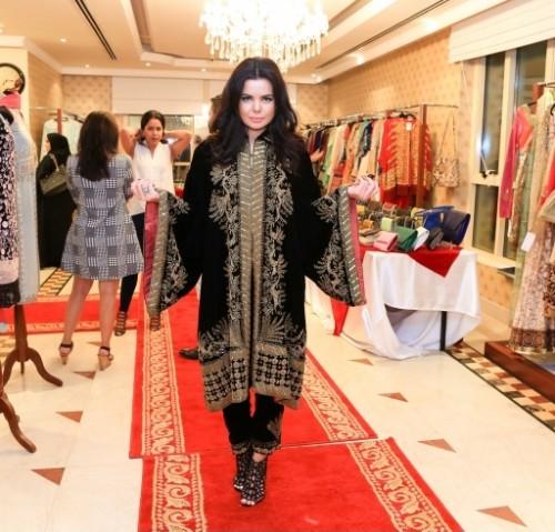 Diwali Trunk Show at Ensemble Dubai 01