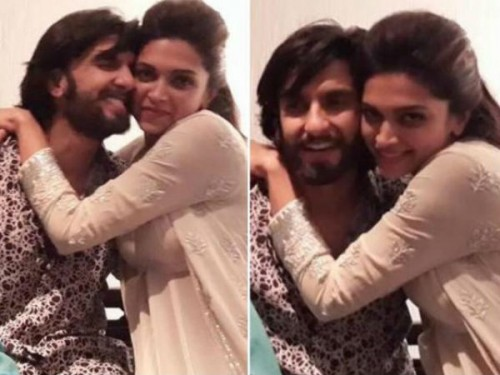 Ranveer Singh and Deepika Padukone Hot Picture