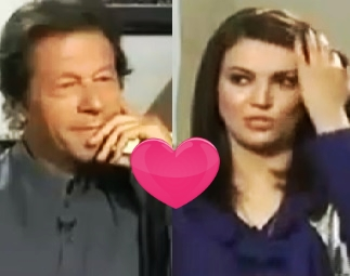 Imran Khan and Reham Khan Interest
