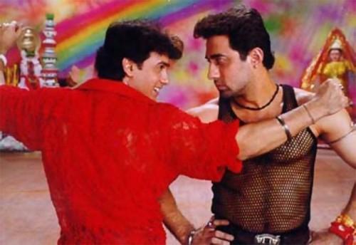 Aamir and Faisal Khan in Mela
