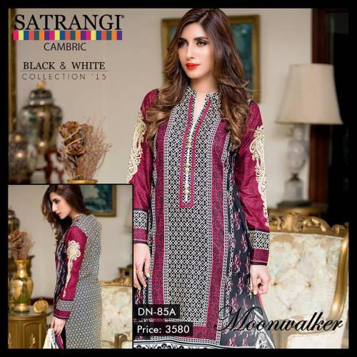 Bonanza Cambric Dresses For Winter 2015 09