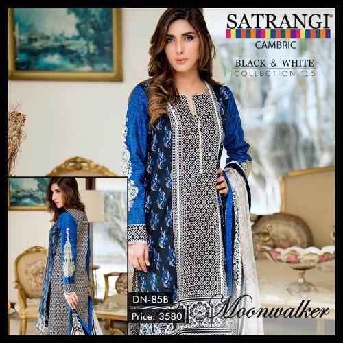 Bonanza Cambric Dresses For Winter 2015 08