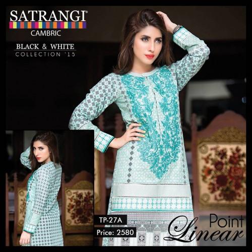Bonanza Cambric Dresses For Winter 2015 06