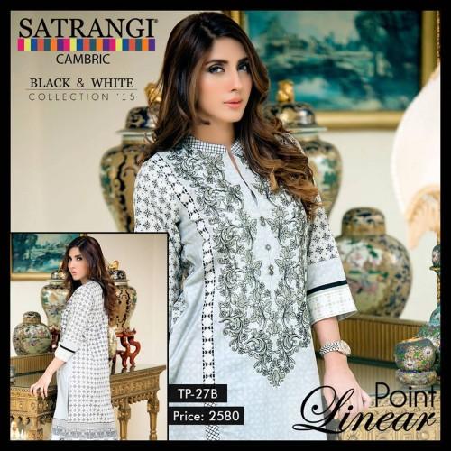 Bonanza Cambric Dresses For Winter 2015 05