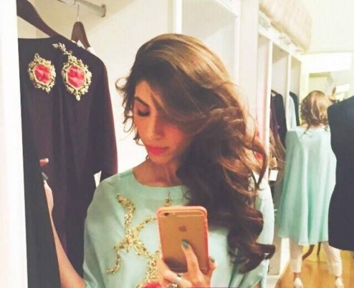 Teena By Hina Butt Winter Wedding Outfits 2015 for Girls 02