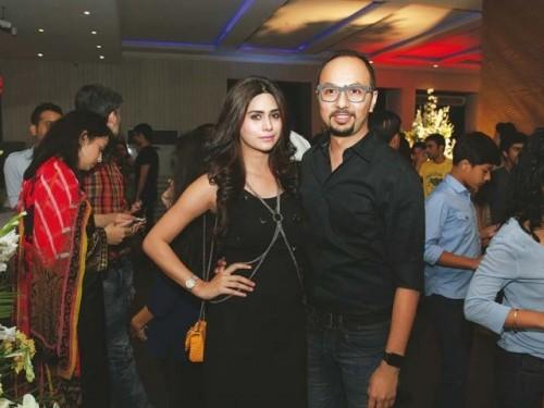 Huma and Nomi Ansari at Jawani Phir Nahi Ani Promotion