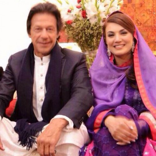 Imran Khan and Reham Khan Valima