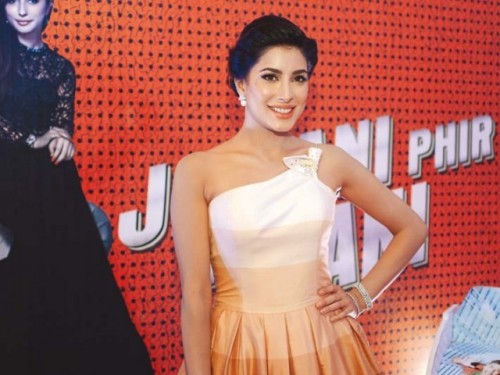 Mehwish Hayat at Jawani Phir Nahi Ani Promotion