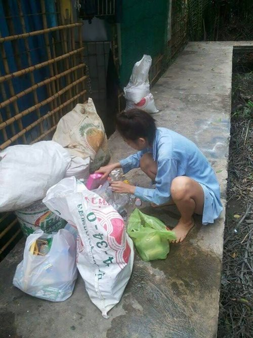 Mint Collecting Garbage