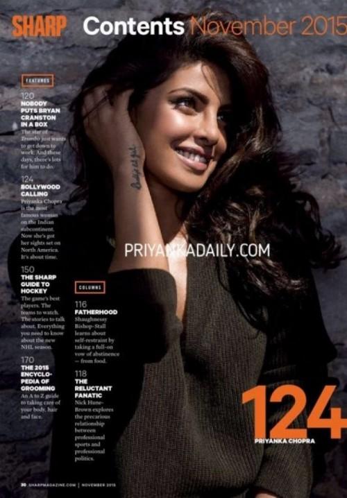 Priyanka Chopra For Sharp Magazine 02