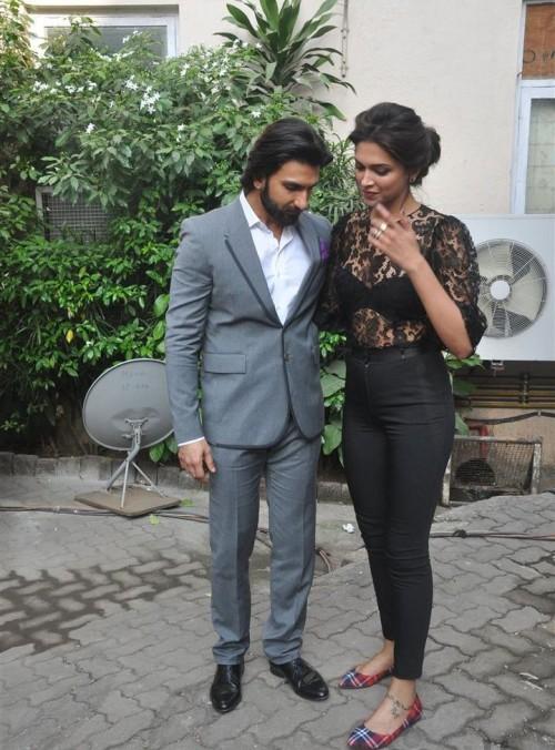 Ranveer Singh and Deepika Padukone Picture