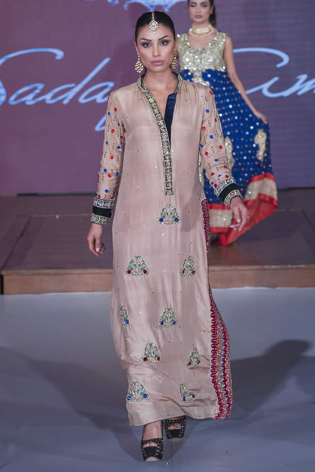 aadbefd84 Sadaf Amir Collection PFW8 London 2015 Sadaf Amir Bridal Dresses ...