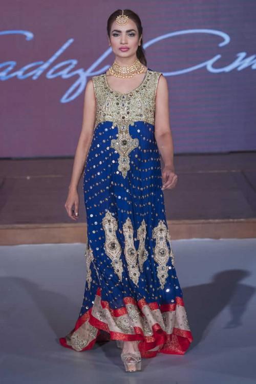 Sadaf Amir Bridal Dresses Pakistan Fashion Week London 2015 09