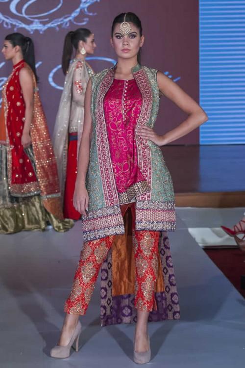 Sadaf Amir Bridal Dresses Pakistan Fashion Week London 2015 04